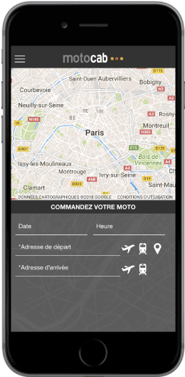Application Motocab